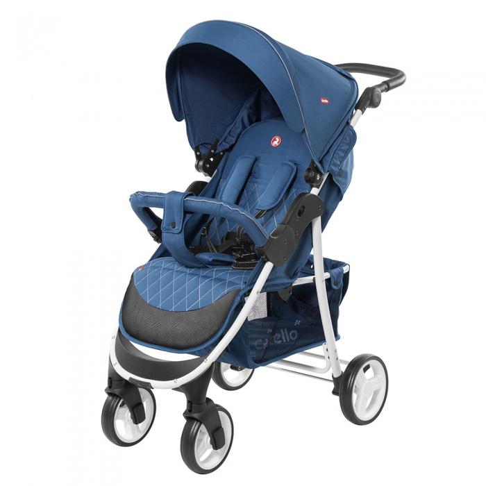 Детская коляска CARRELLO Quattro  CRL-8502/1 Navy Blue 2019