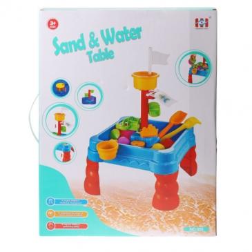 Столик-песочница с игрушками. СТРОИМ ЗАМКИ (23 предмета, 40x50см) (Арт. 100998272)