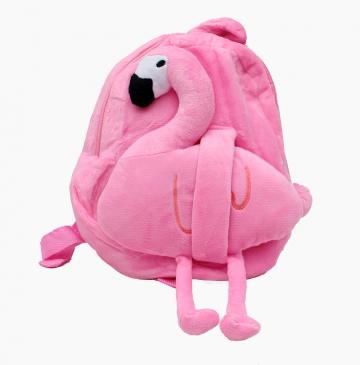 """Плюшевый друг. Рюкзачок-игрушка """"Фламинго"""" 28х20см (Арт. D31287)"""