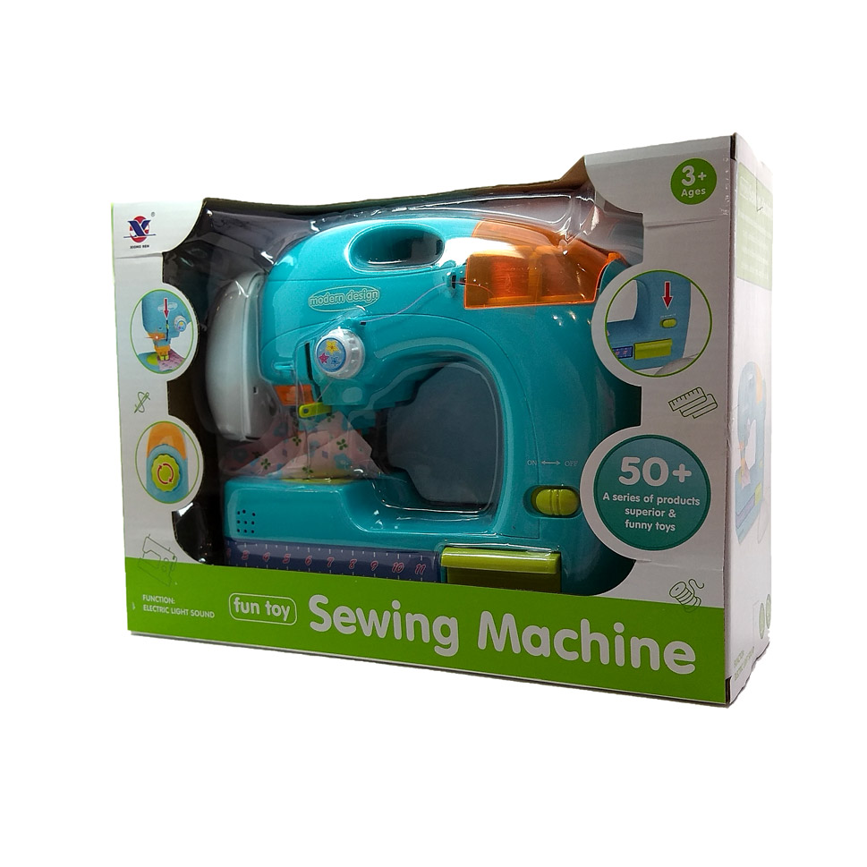 Игрушка: Швейная машинка №XS-19055 на батарейках/коробка/32*12*23