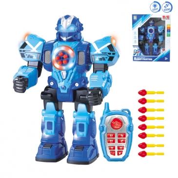Радиоуправляемый робот. Космический страж (свет, звук, стреляет дисками, 30 см) (Арт. 100904157)