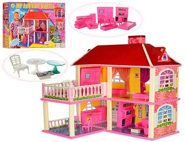Игровой дом для кукол №6980/коробка(62*48*10)