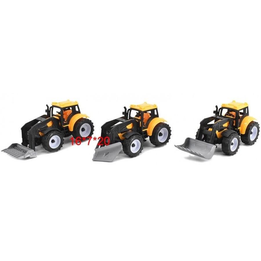 Трактор №669-4 инерционный/пакет/20*7*16