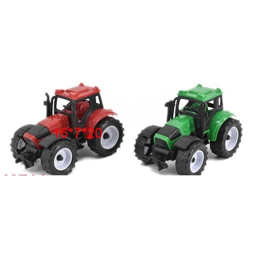 Трактор №669-3 инерционный/пакет/20*16*7