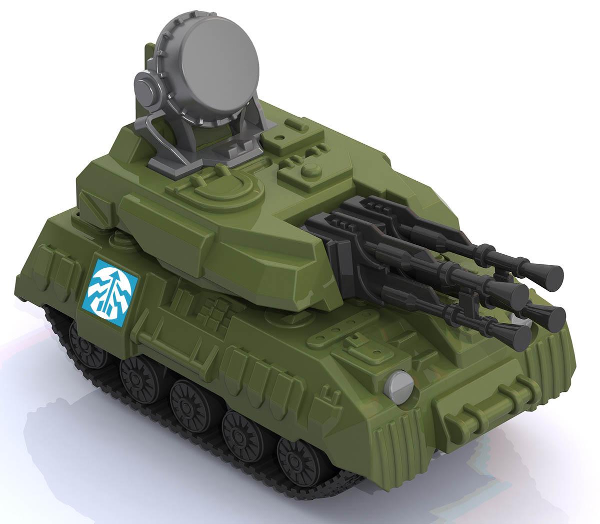 "Зенитная установка ""Салют""344"