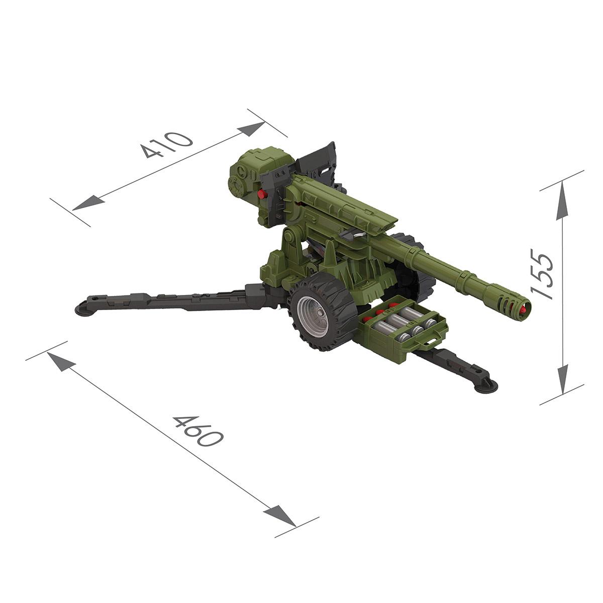 Пушка ( в сетке) 354