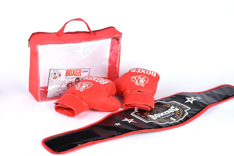 Боксерский набор(пояс,перчатки) 21559