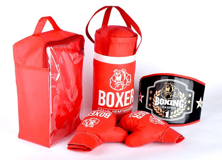 Боксерский набор (груша, пояс, перчатки) 21549