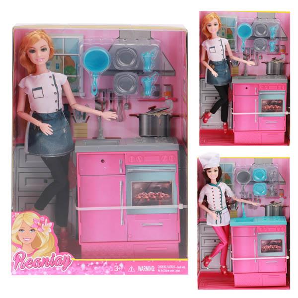 Кукла CS699-25 повар в коробке 22*6*32,5