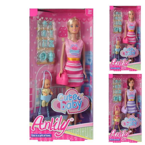 Кукла 99201 с аксессуарами в коробке 16*6*32,5