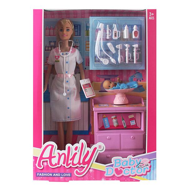 Кукла с аксессуарами 99232 (23,5*6*32)