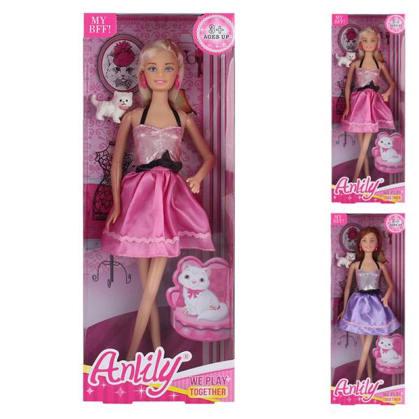 Кукла  с питомцем 99128 (32*12*5,5)