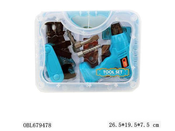 Набор инструментов 6603-1  (в чемодане) (26,5*19,5*7,5)