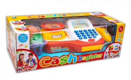 Игровой набор: Касса. Продуктовый магазин (свет, звук, 41x18 см). Арт. 1523275