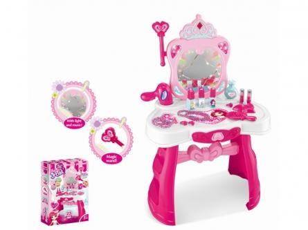 Игровой набор: Маленький стилист. Туалетный столик с украшениями и косметикой. Арт. Y2108264