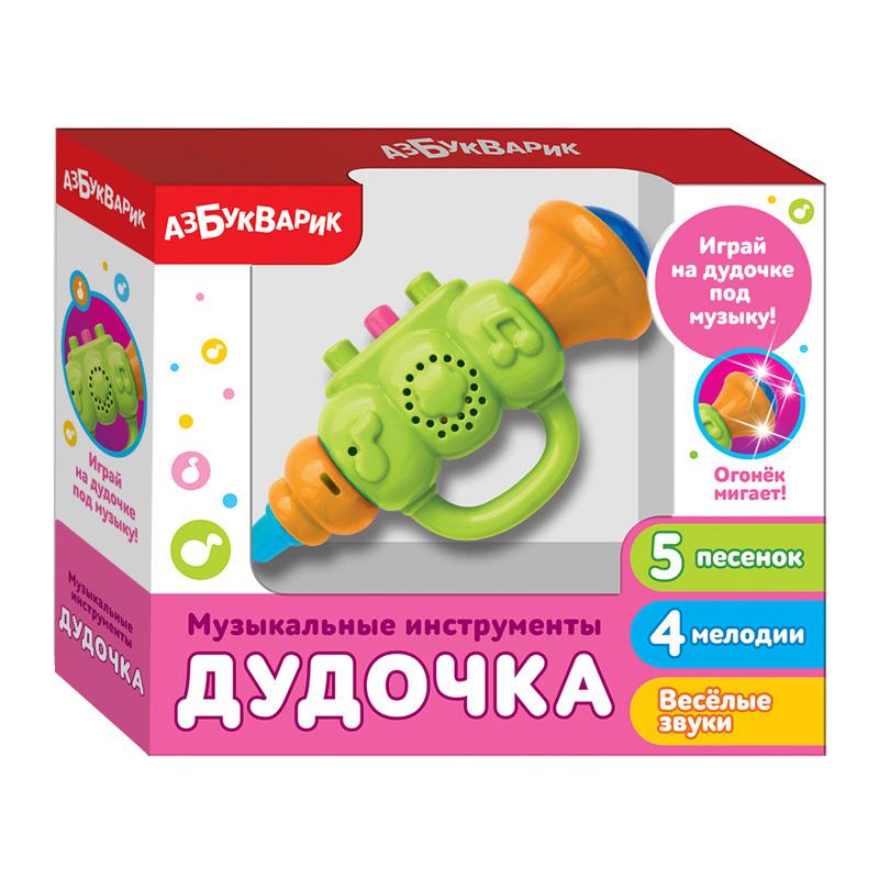 3661 Дудочка (Музыкальные инструменты) Зеленый 2183А