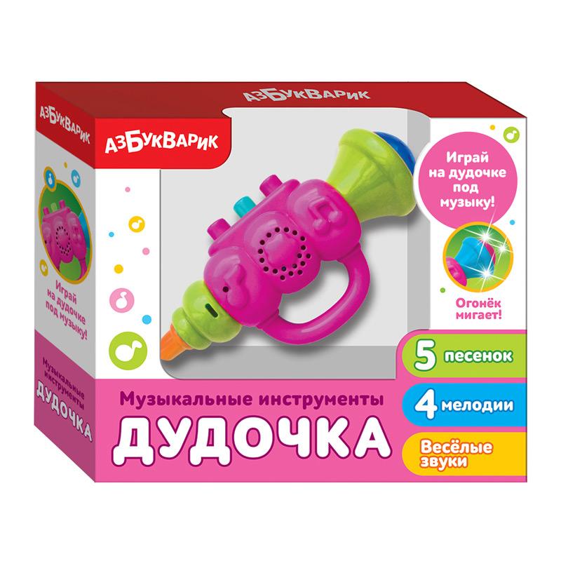 3661 Дудочка (Музыкальные инструменты) Розовый 2183В