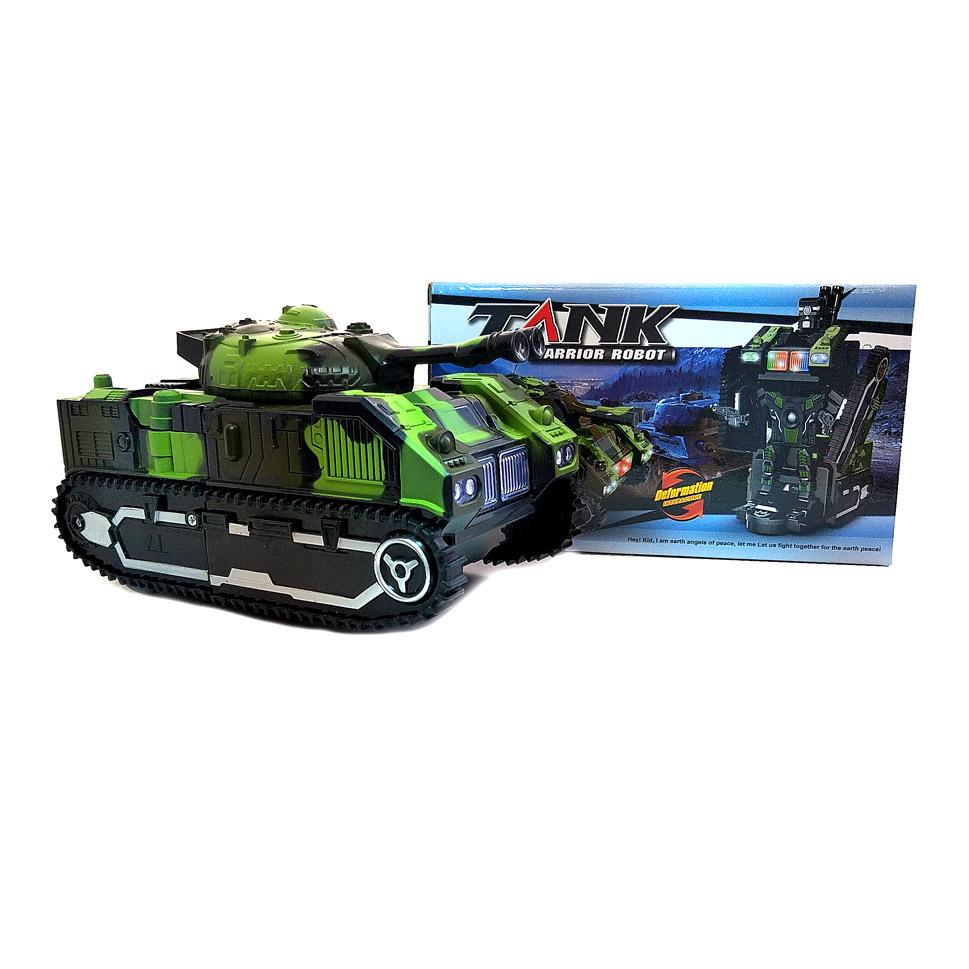 Робот Трансформер Танк (свет, звук) 9901