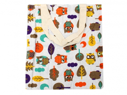 200382072 Сумка деткая. СОВУШКИ-2, 33х36 см, текстиль