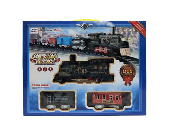 Железная NB558-95 дорога (на бат.) в коробке (40,7*32,3*7,2)