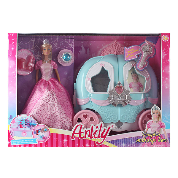 Кукла 99210 с аксессуарами в коробке 49,7*16*35