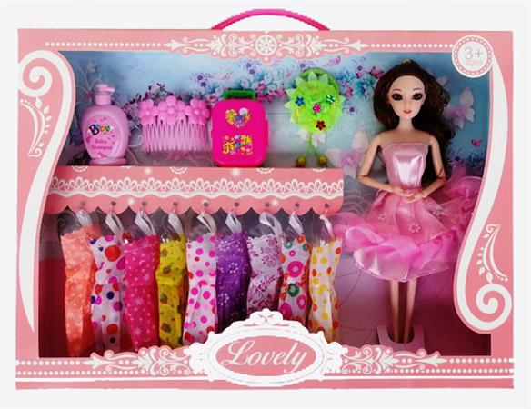 Кукла 1035B с аксессуарами, в коробке (45*6*32,5)