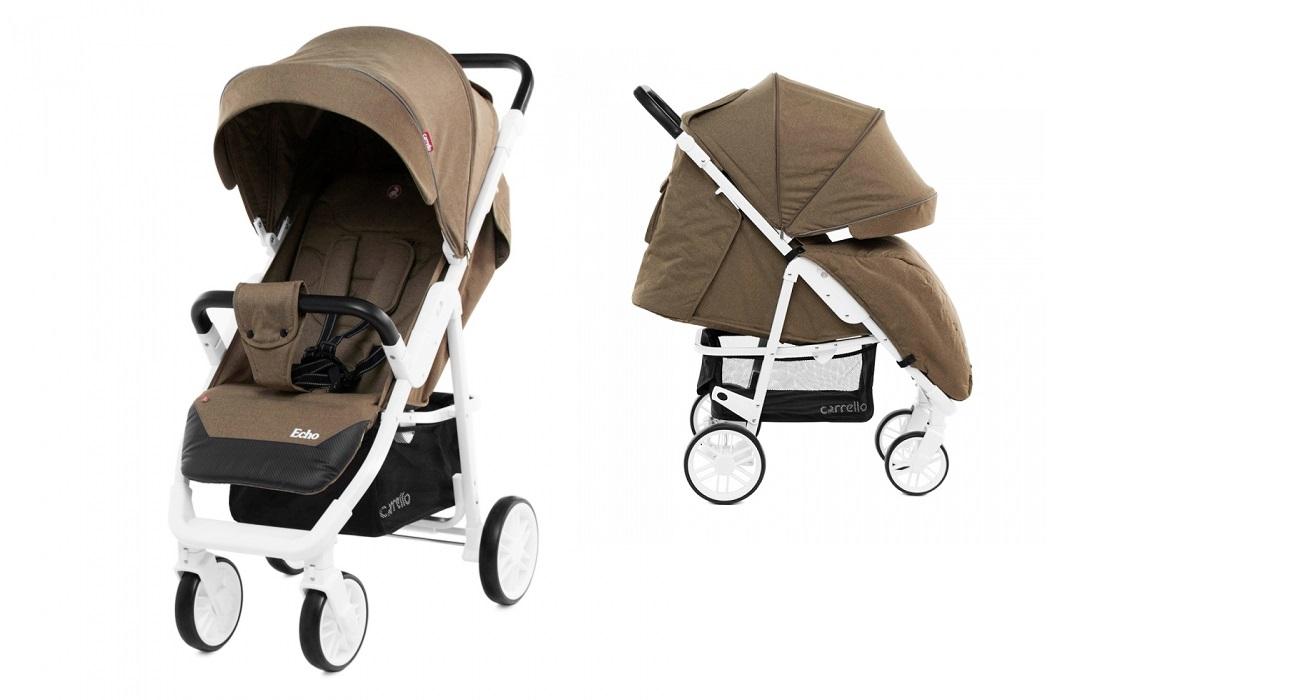 Детская коляска CARRELLO  Echo CRL-8508 Caramel Beige