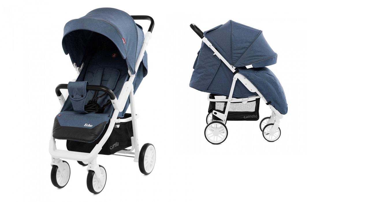 Детская коляска CARRELLO  Echo CRL-8508 Shadow Blue