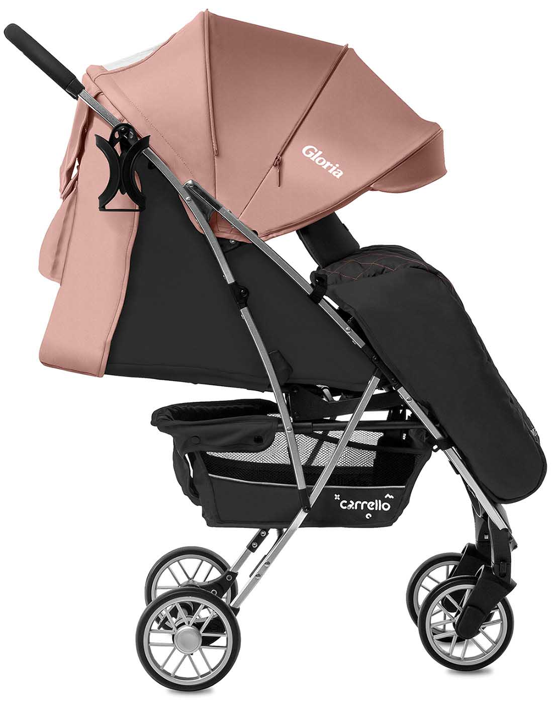 Детская коляска CARRELLO Gloria CRL-8506/1 Coral Pink