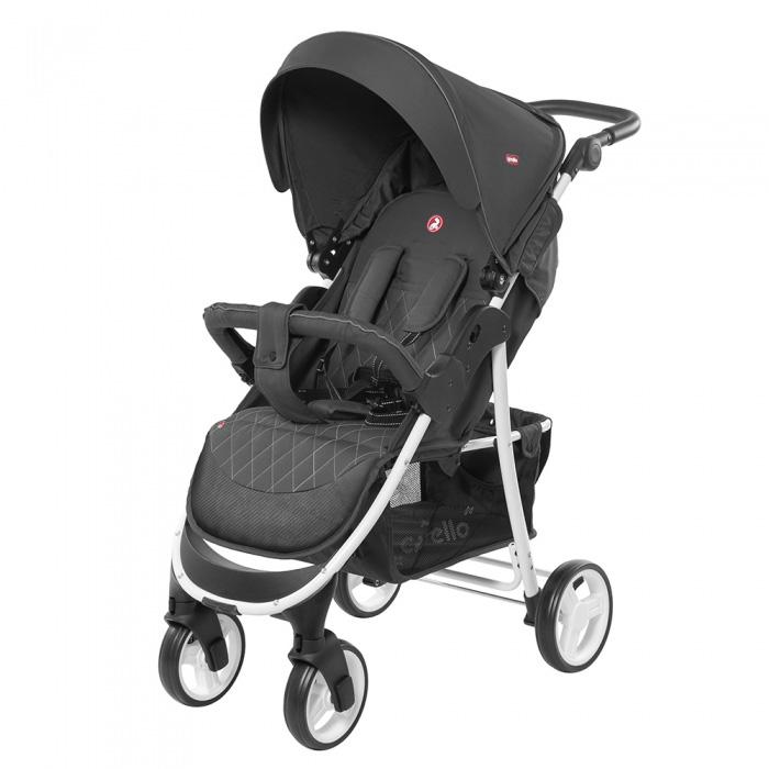 Детская коляска CARRELLO Quattro  CRL-8502/2 Metal Gray 2019