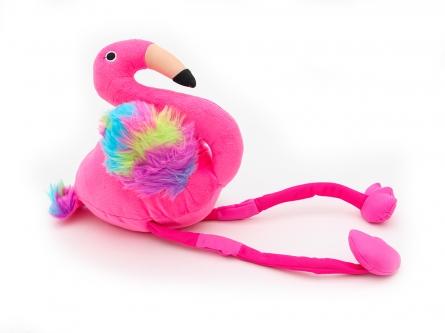 D059 Серия: Мягкая игрушка. Плюшевый дружок. ФЛАМИНГО 50 см