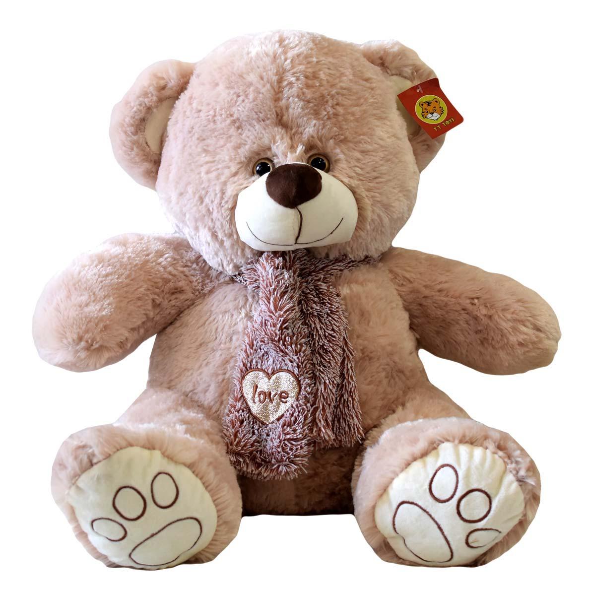 Медведь с шарфом LOVE 3902-2