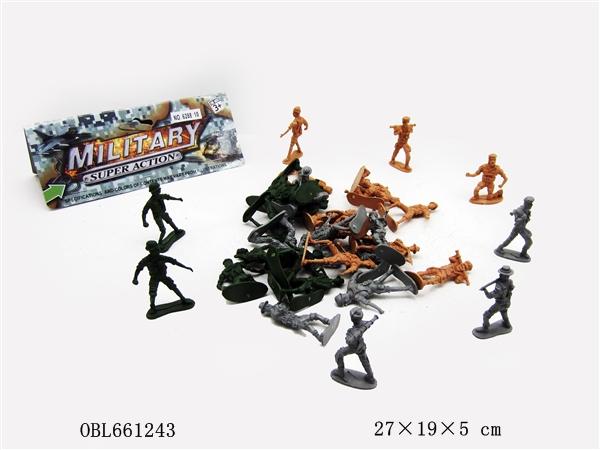 Набор 6288-10 армия в пакете 27*19*5