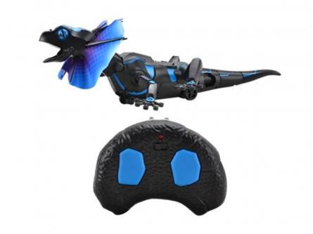 T236-D6674 Игрушка на радиоуправл. Робот-игуана (USB, свет, звук, пульт управл. 3 режима,40 см)