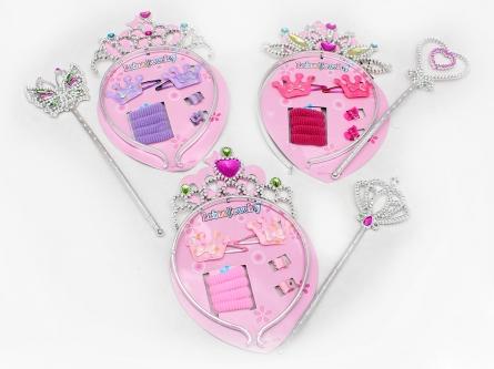 """200376246 Украшения для принцессы""""Маленькая фея"""", пластик, текст"""