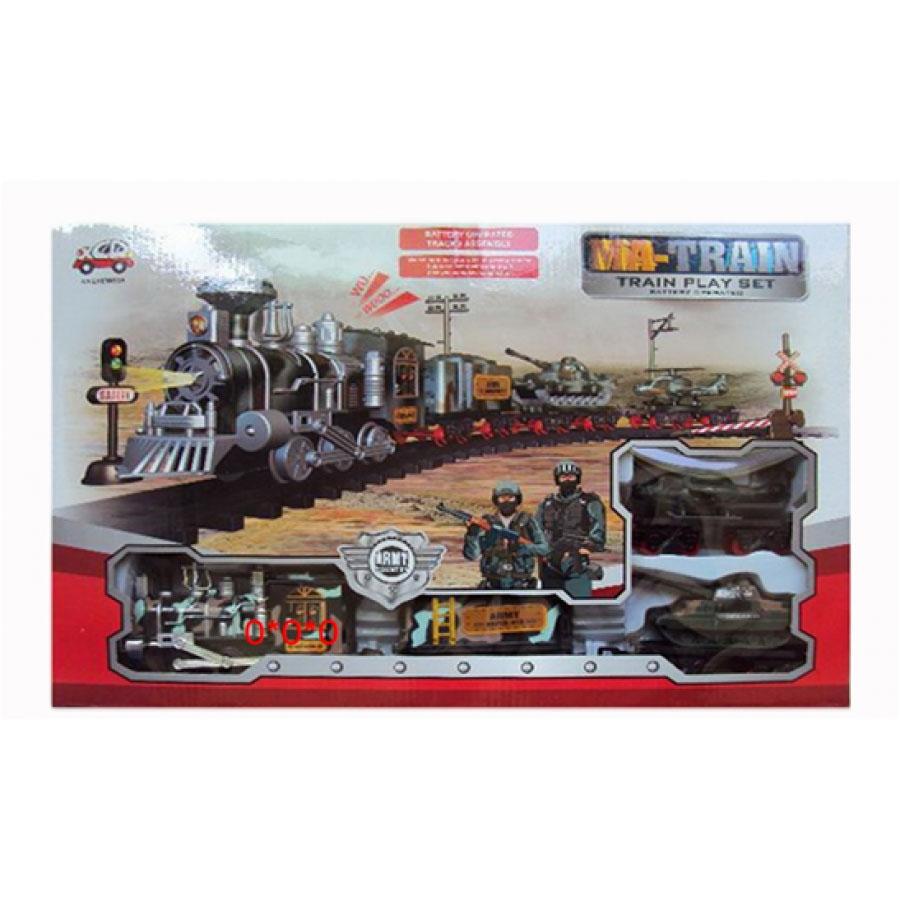 Железная дорога №12789А на батарейках/коробка/47*31*6