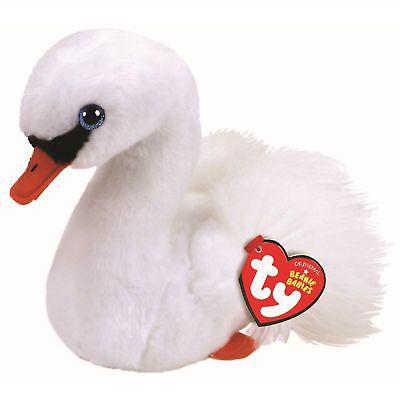 41035 BB Gracie белый лебедь 15 см