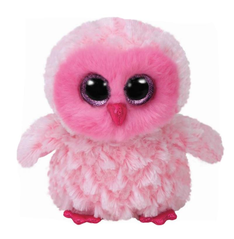 36846 BB TWIGGY - розовая сова , 15 см.