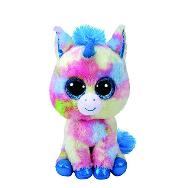 36877 Beanie Boo's BLITZ - синий единорог 15 см