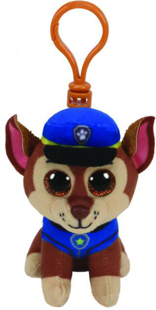 41276 TY Paw Patrol Немецкая овчарка Гонщик игрушка-брелок 10 см