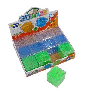 H17541 Головоломка-куб. ЛАБИРИНТ (большой) (пластик, 12 шт. в шоу-боксе)