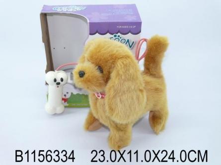 1156334 Серия Музыкальная игрушка. Забавный щенок (звук, 24 см)