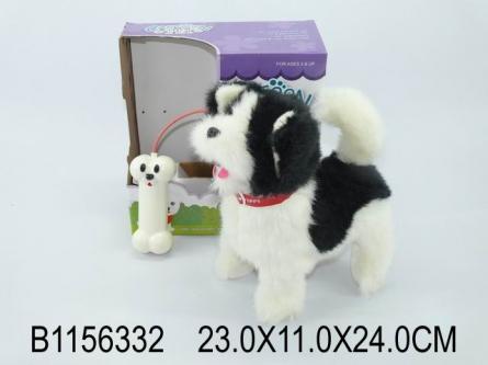 1156332 Серия Музыкальная игрушка. Пушистый щенок (звук, 24 см)