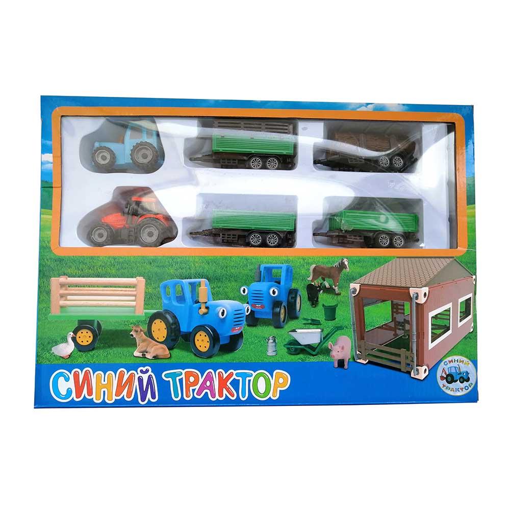 """""""Синий трактор"""" набор 2 трактора EN2003"""