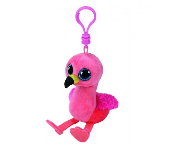 35210 Beanie Boo's  Gilda - Розовый фламинго игрушка-брелок 10 см
