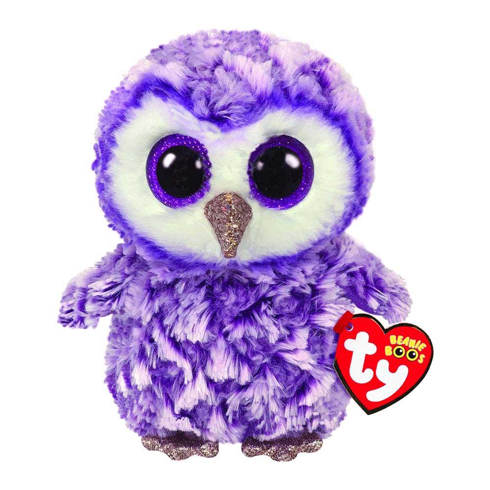 36325 Beanie Boo's Moonlight - фиолетовая сова 15 см