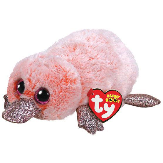 36217 Beanie Boo's WILMA - розовый утконос 15 см