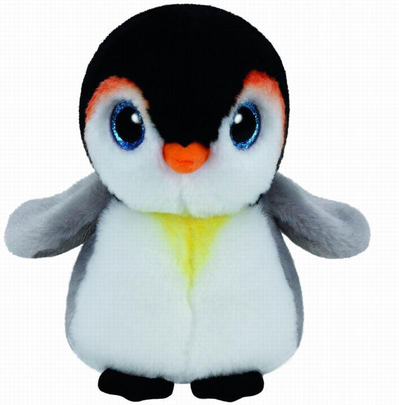 90232 Beanie Babies PONGO - пингвин 25 см