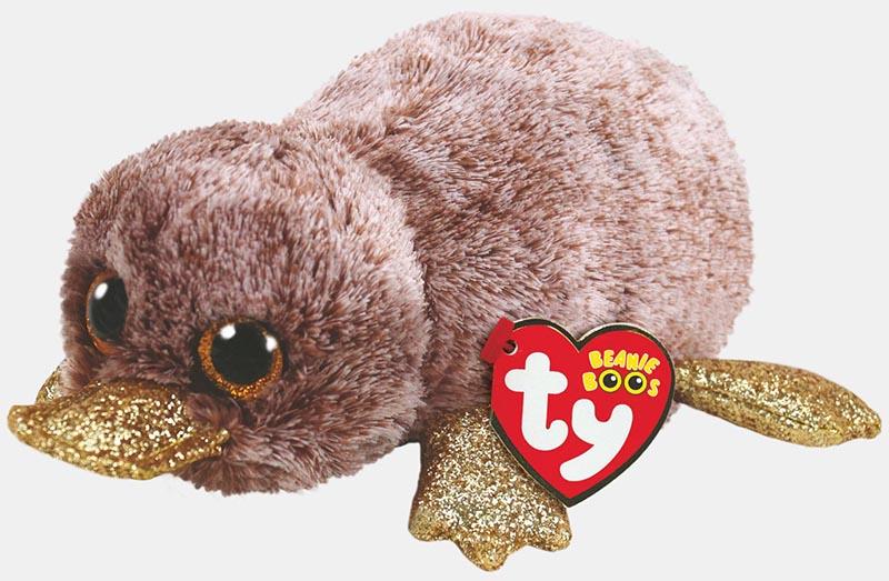 36218 Beanie Boo's PERRY - коричневый утконос 15 см
