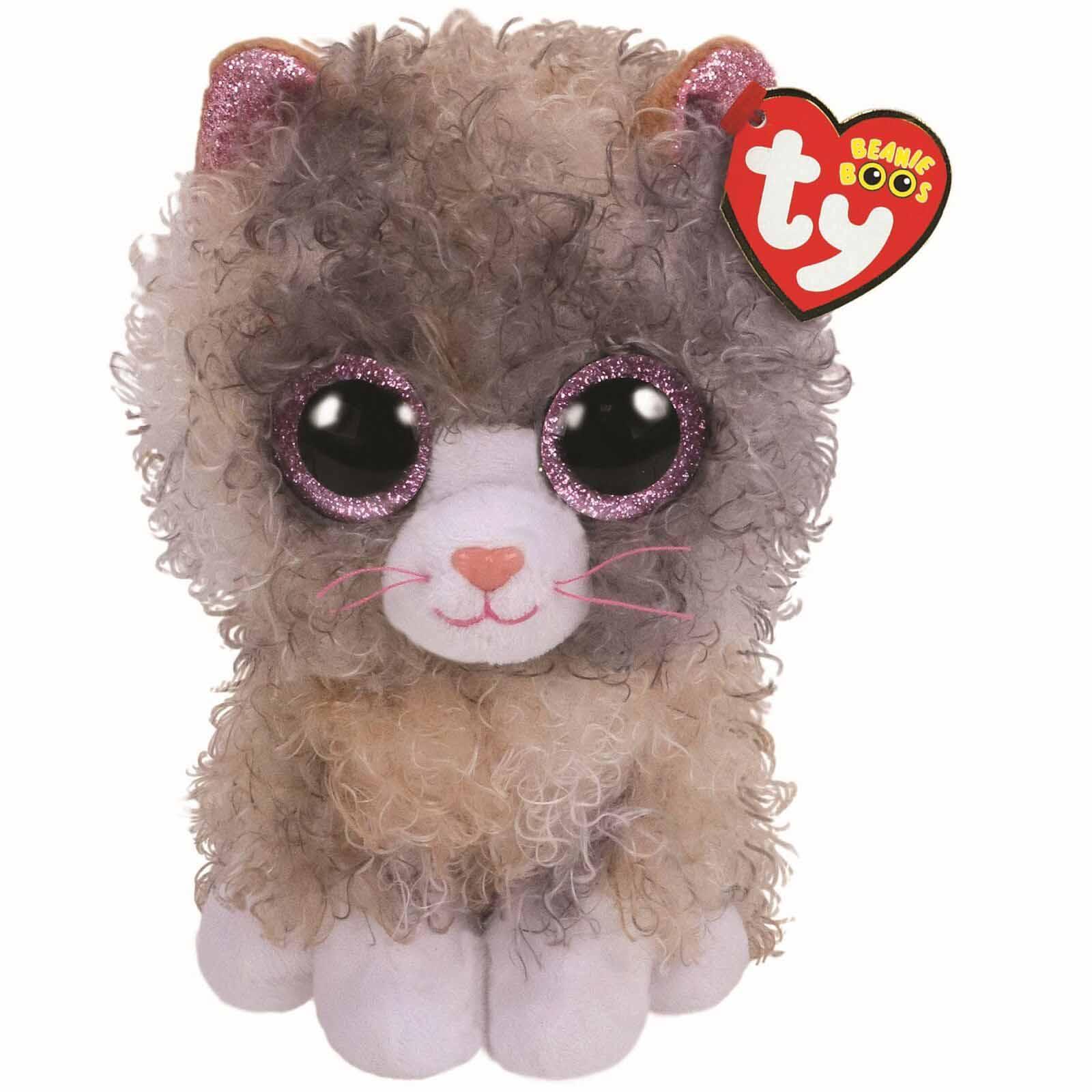 36277 Beanie Boo's SCRAPPY - кучерявый кот 15 см